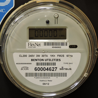 the correct reading for the digital meter below is 0